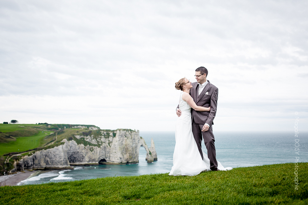 Photo de couple Etretat