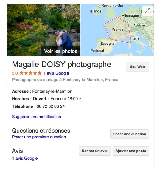 Carte de fidélité Parrainage - Photographe Caen Calvados