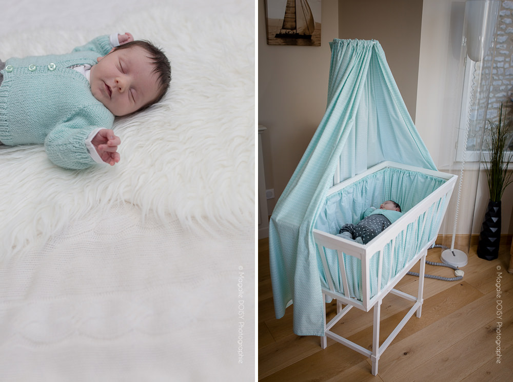 Séance photo bébé à domicile - Photographe Caen