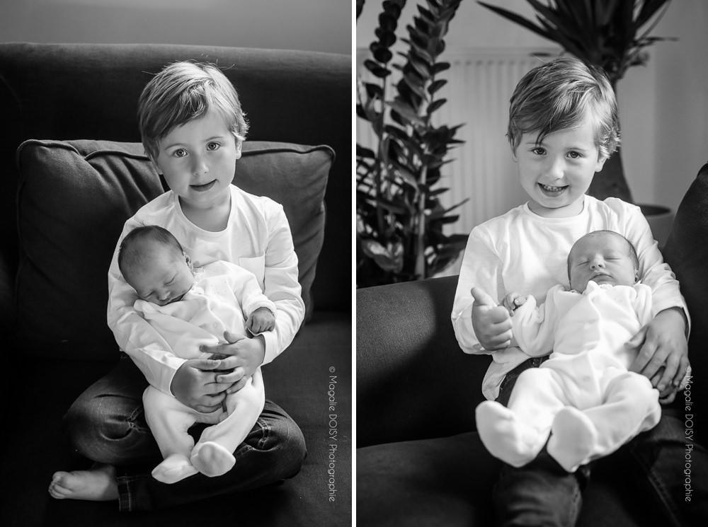 Photographe nouveau-né à domicile Caen