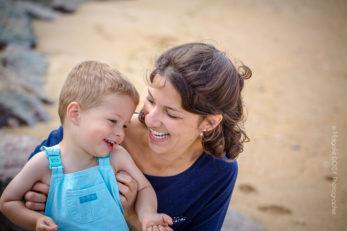 Photographe famille - Séance photo à la plage de Ouistreham