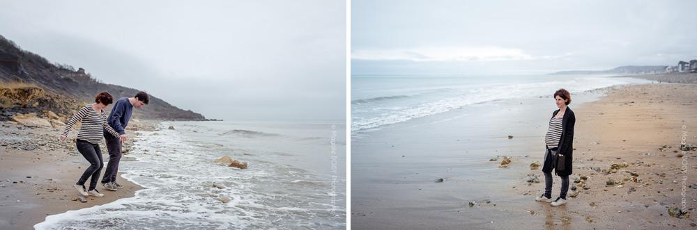 Séance photo grossesse Villers sur mer