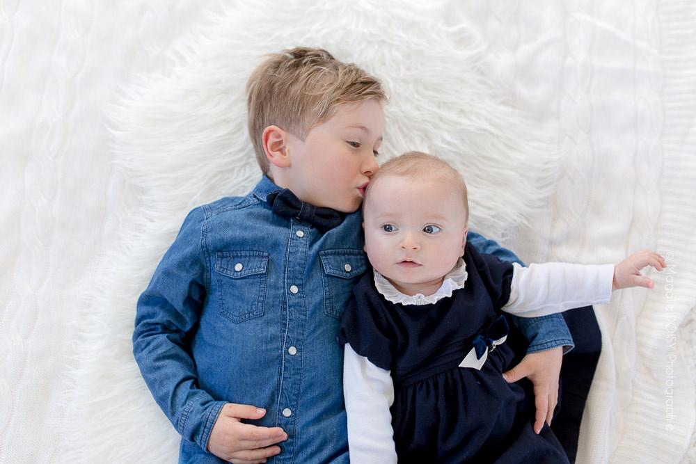 Séance bébé à domicile - Photographe Caen