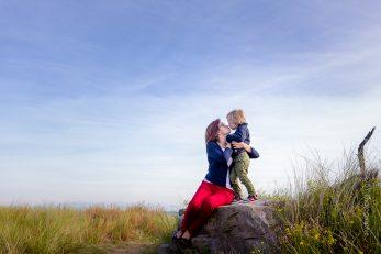 Photographe Séance famille à la mer