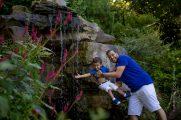 Photographe séance famille colline aux oiseaux