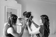 photographe préparatifs mariage robe elsa gary