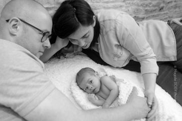 Photographe bébé Normandie - Séance photo à domicile