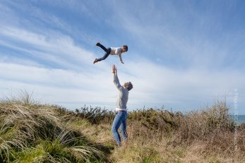 Séance photo Famille à la plage - Barneville-Carteret